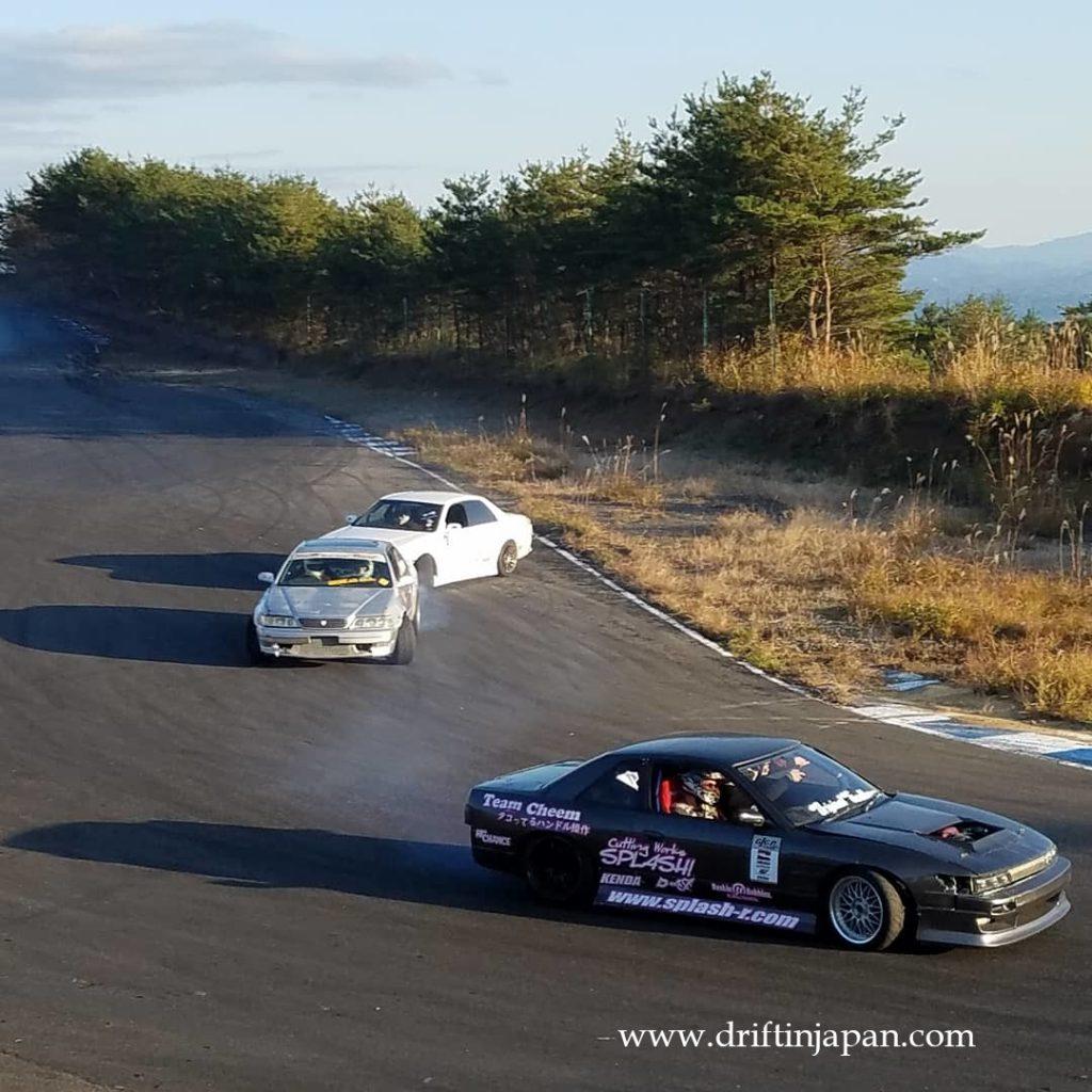 drift matsuri on nishi course